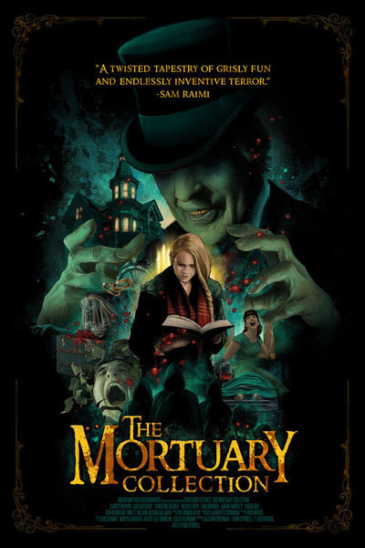 The Mortuary Collection movie poster