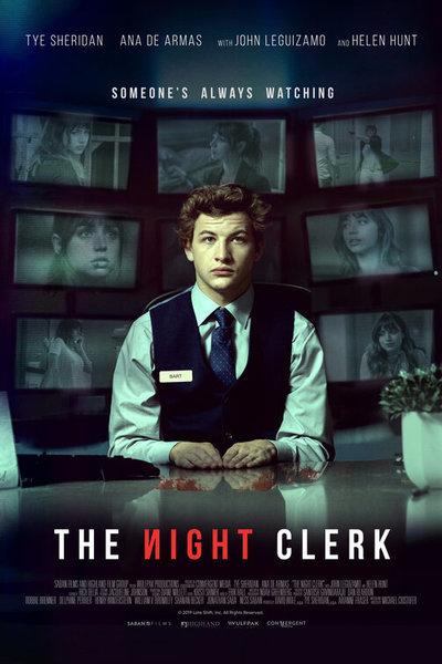 The Night Clerk movie poster
