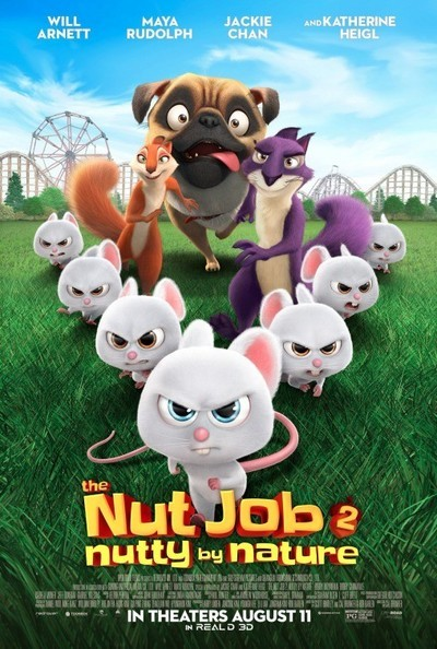 The Nut Job 2: Nutty by Nature Movie Poster