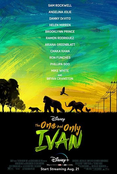 The One and Only Ivan movie poster