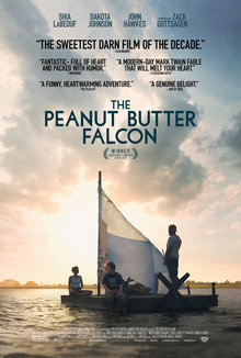 Widget peanut butter falcon movie review poster 1