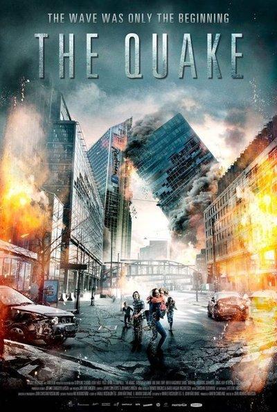 地震电影海报