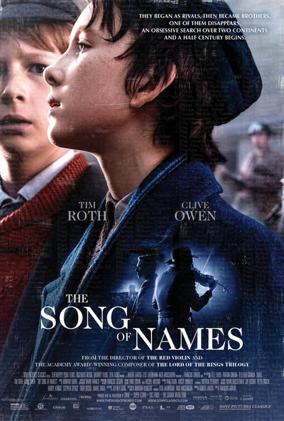 The Song of Names movie poster