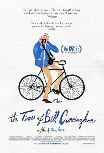 The Times of Bill Cunningham movie poster
