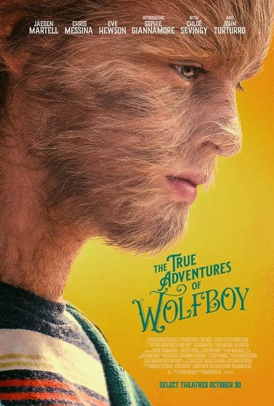 The True Adventures of Wolfboy movie poster