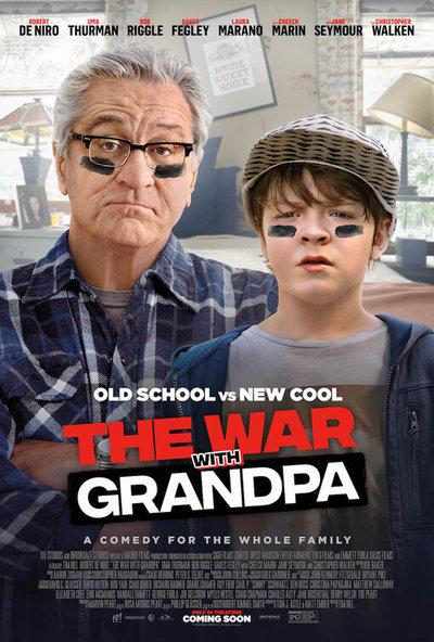 《与爷爷的战争》电影海报