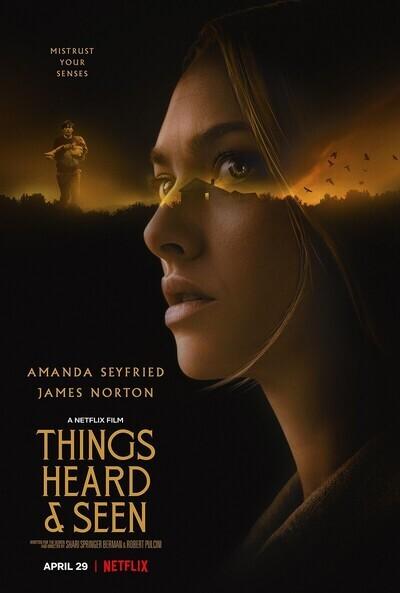 Things Heard & Seen movie poster