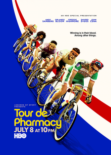 Widget tour de pharmacy poster pic