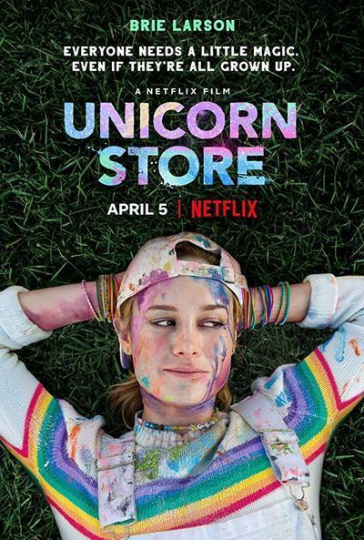 Unicorn Store movie poster