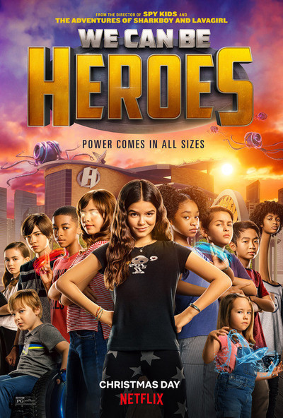 We Can Be Heroes movie poster
