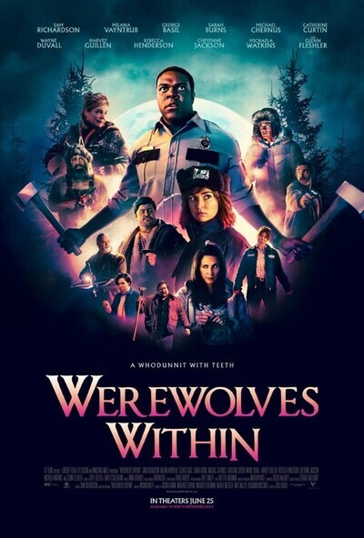 Werewolves Within movie poster