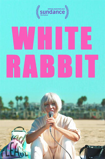 Widget white rabbit poster