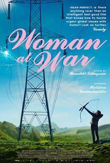 Widget woman war poster