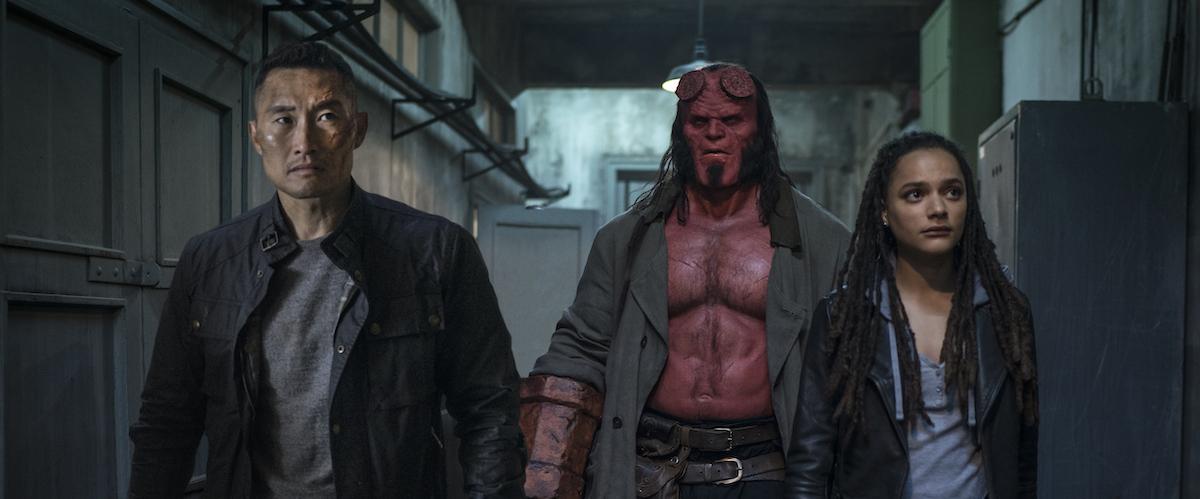 Hellboy Movie Review Film Summary 2019 Roger Ebert