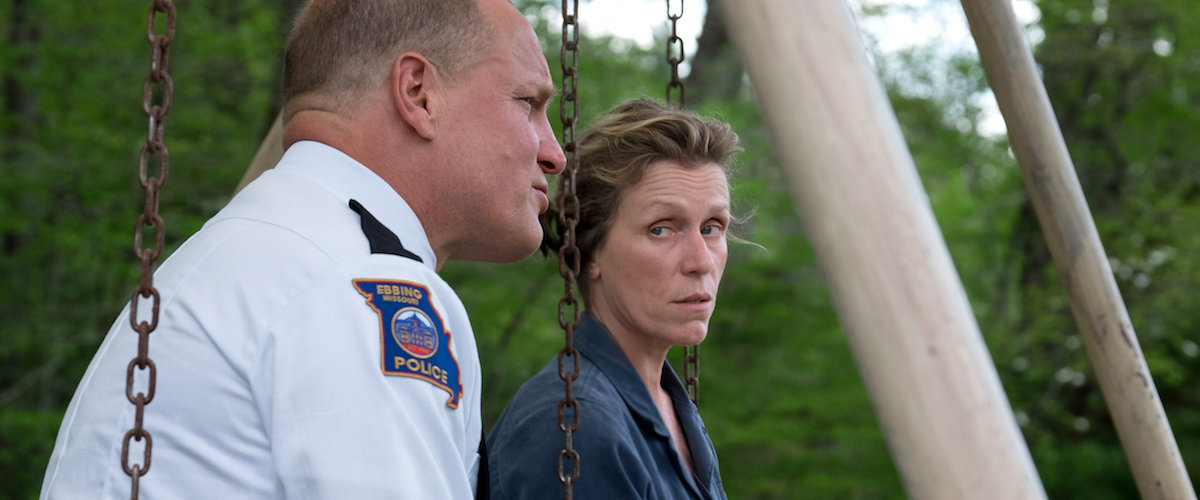Image result for Three Billboards Outside Ebbing, Missouri. roger ebert