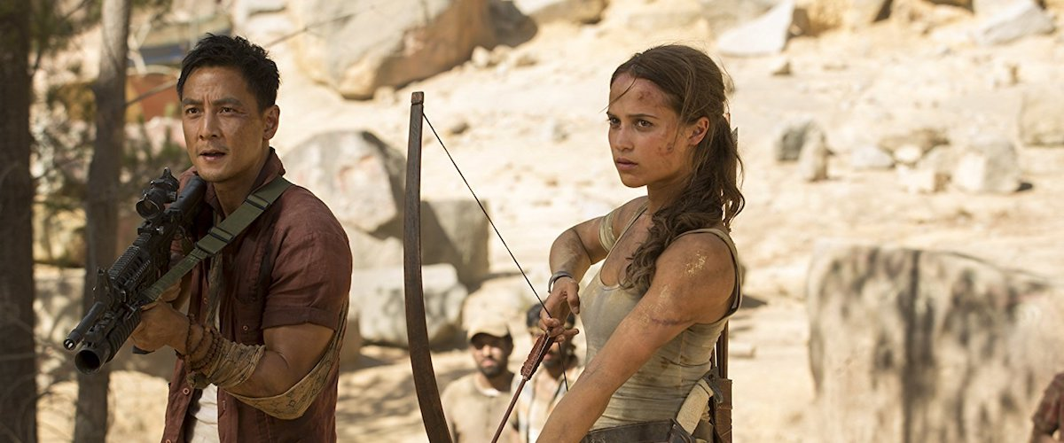 Tomb Raider Movie Review Film Summary 2018 Roger Ebert